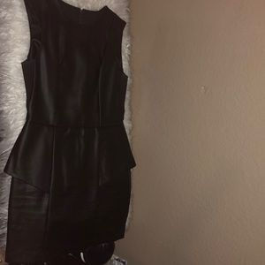 BCBGenration Leather dress